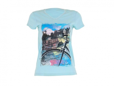 Camiseta Marcio May Amsterdam City Feminina