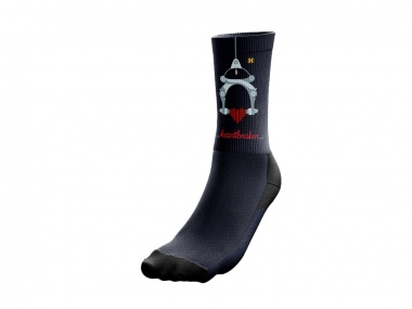 Meia PopSox Hot Cantilever