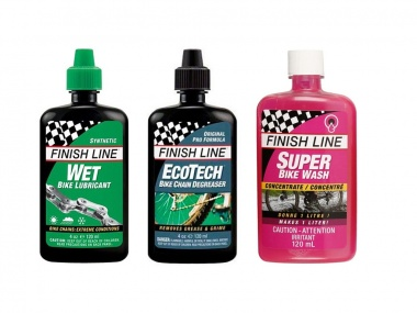 Kit de Lubrificantes Finish Line Premium Care Úmido